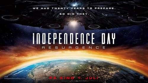 Midnattspremiere Independence Day; Resurgence