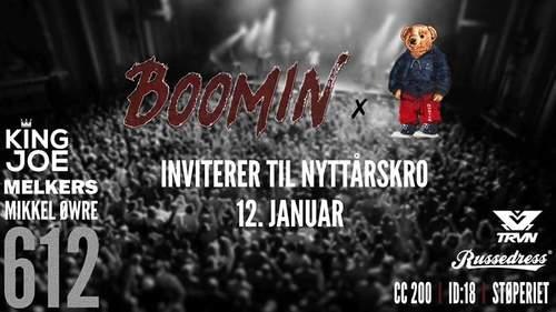 Boomin & Polo Bear inviterer til Nyttårskro