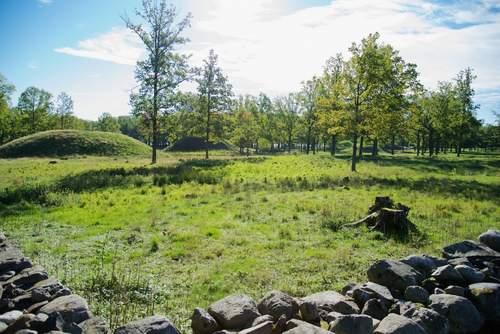Midgard historisk senter og Borrehaugene