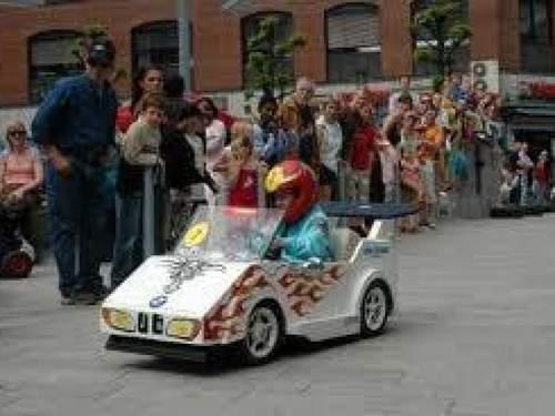 Ola-bil løp i Tønsberg!