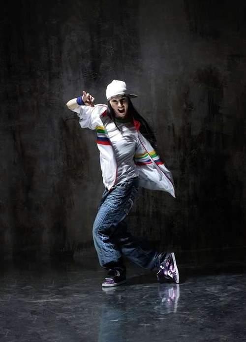 Hip hop og funk med Margit