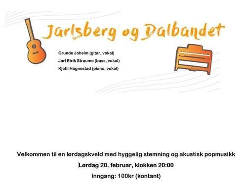 Jarlsberg og Dalbandet spiller live