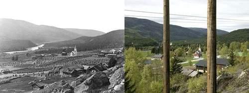 Norge før og nå