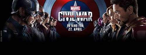 Midnatts-premiere på Captain America: Civil War