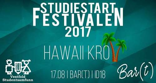 Studiestart 2017 // Hawaii kro