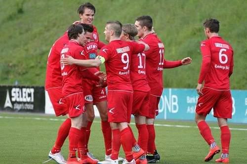 FK Tønsberg - Odds Ballklubb, 2 runde i cupen