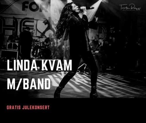 Gratis julekonsert: Linda Kvam med band