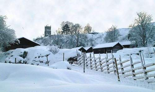 Julemarked på Vestfold-tunet