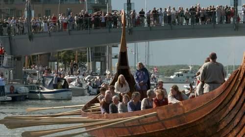 Sjøsetting av nytt Osebergskip