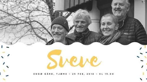 Gratis konsert med Sveve siste søndag i vinterferien