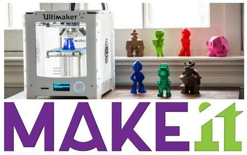 MAKEit: Lær 3D-printing