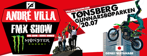 André Villa FMX Show 2016 - Tønsberg