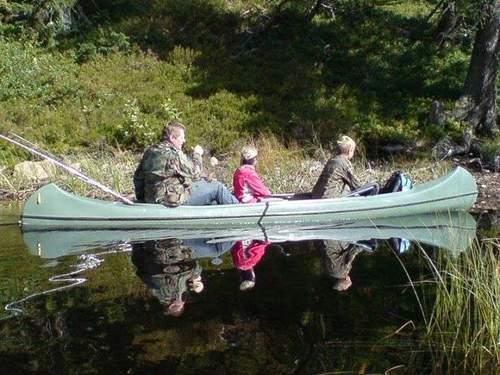 Pappatur med kano