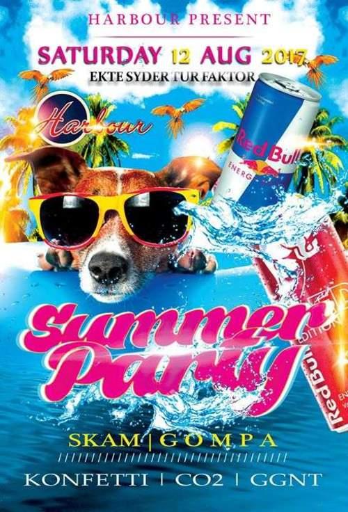 Summer PARTY Redbull Edition