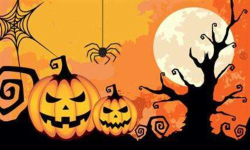 Halloween i Svømmehallen