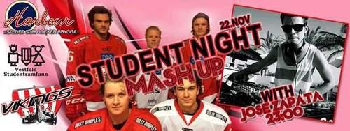 Student mash up night