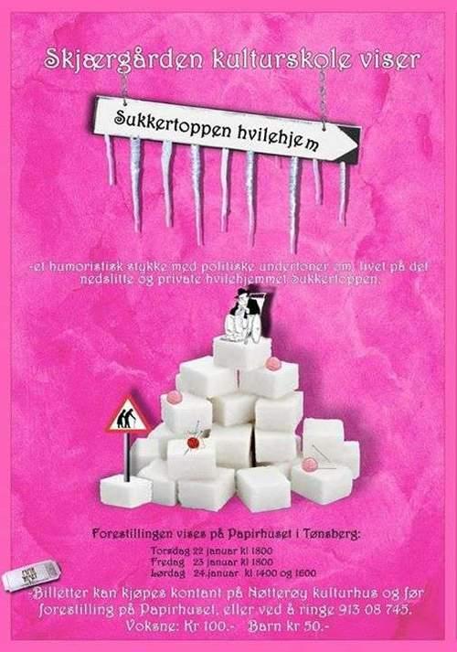 Skjærgården kulturskole viser SUKKERTOPPEN HVILEHJEM