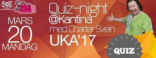 UKA ´17 - Quiz med Charter Svein