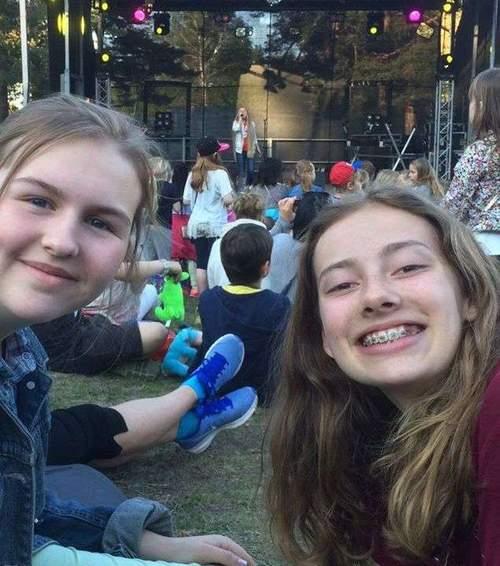 Sommerferie-feiring med Isabelle Eriksen og Tuva Fikenhagen fra MGPjr