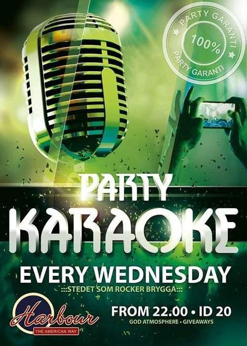 Party karaoke // NM final vestfold // singapore 2015
