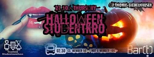 Halloween Party på BAR[T]