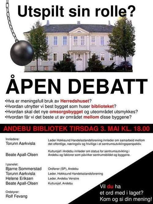 Åpen debatt