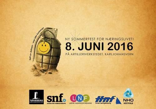 Sommerfest for næringslivet i Vestfold