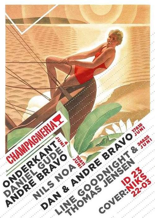 Champagneria Club // Thomas Jensen & Line Goodnight