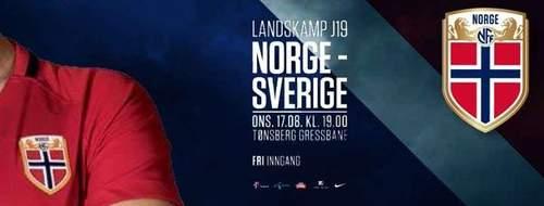 Landskamp J19: Norge - Sverige