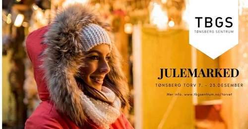 Julemarked på Tønsberg torv 2017