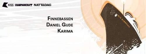 Festivalcruise #3 Finnebassen, Daniel Gude, Karima