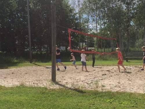 Strandtur og tur til aktivitetsparken