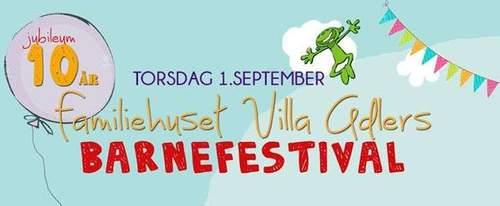 Familiehuset Villa Adlers barnefestival
