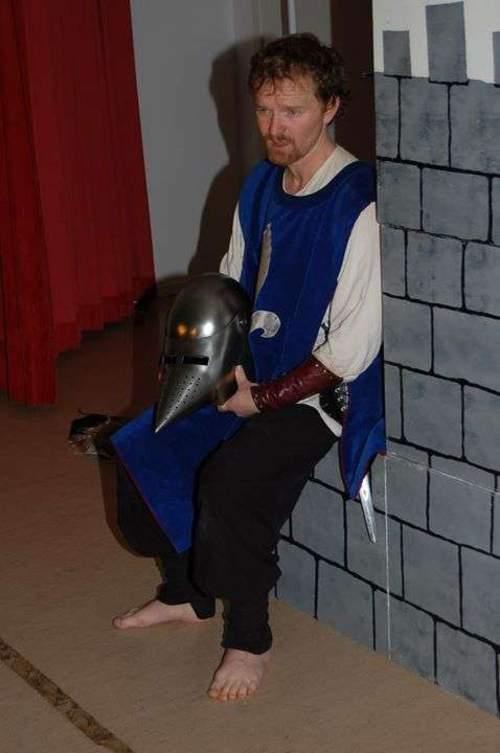 Familieforestilling: Den mørkeredde ridder