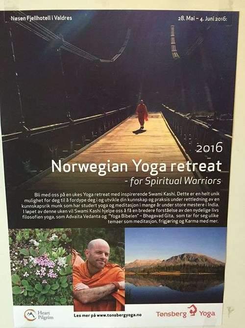 Unikt Yoga Retreat med Swami Kashi Fra Himalaya