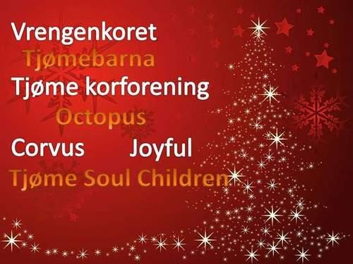 Vi synger julen inn