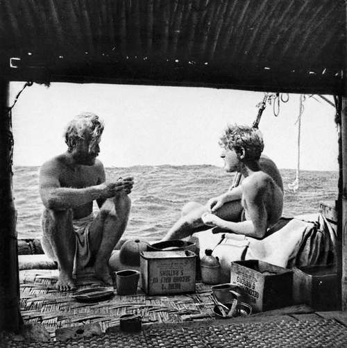 Kåseri: Hemmelig helt - om det eventyrlige livet til Knut Haugland