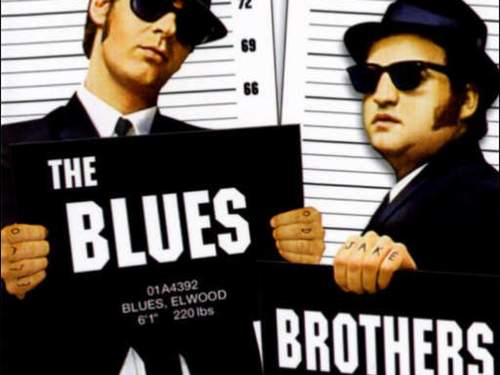 Julebordshow med Blues Brothers